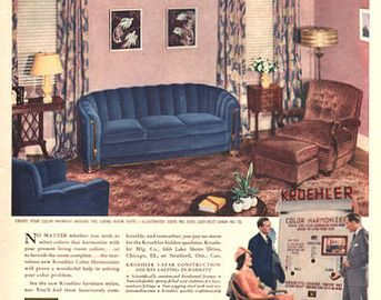 NOTES 1940s Living Room