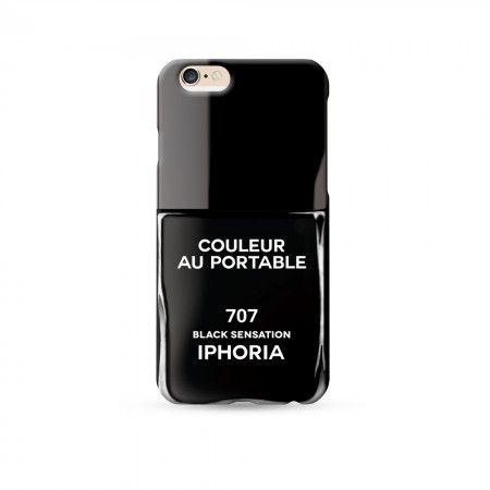 Etui na iPhone 6 IPHORIA Black Sensation COULEUR AU PORTABLE BLACK SENSATION IPHONE 6 www.bag-a-porter.pl