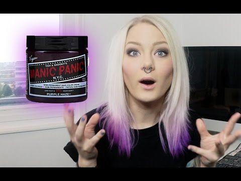 ▶ Manic Panic Purple Haze DIP DYE | Katrin Berndt - YouTube
