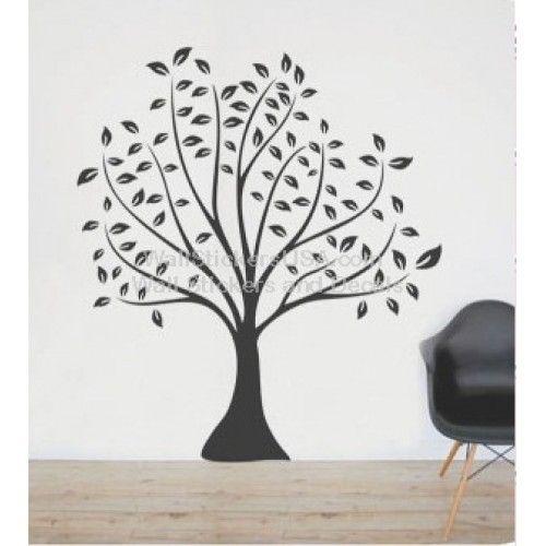 Black Tree Wall Sticker Part 72