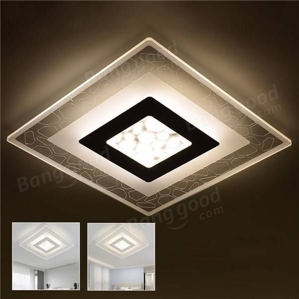 Us 91 36 25 28w Modern Simple Square Acrylic Led Ceiling Lights Living Room Bedroom Home Lamp Ac220v Indoor Lighting From Lights Lighting On Banggood Com Ceiling Lights Living Room Led Ceiling Lights