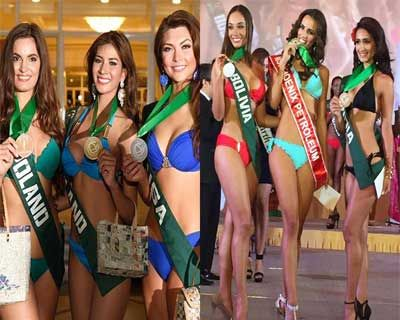 Miss Earth 2014 SwimSuit group Winners