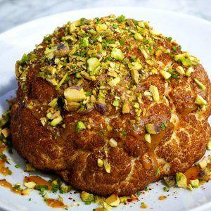 Whole Head Roasted Cauliflower Recipe:
