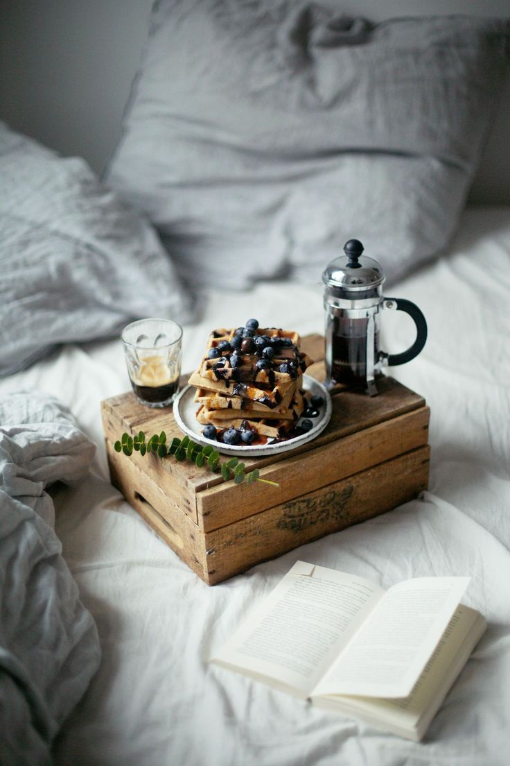 sunday breakfast in bed.