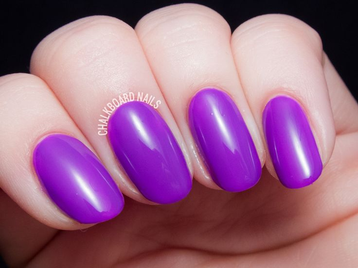 electric purple nail polish - photo #38