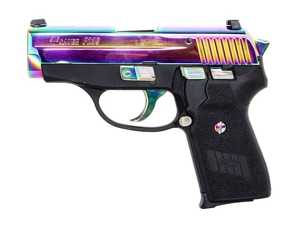 My next gun for sure!!!  SIG SAUER P239 Titanium (courtesy The Truth About Guns)Loading that magazine is a pain! Get your Magazine speedloader today! http://www.amazon.com/shops/raeind
