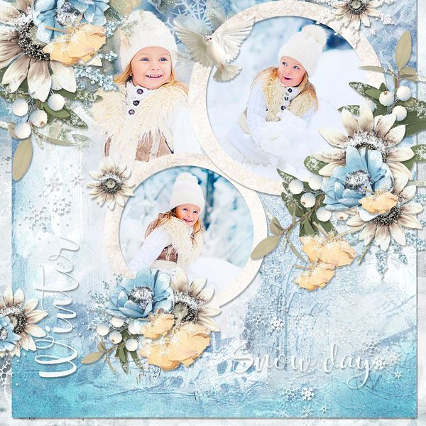 *NEW*NEW*NEW* *The magic of winter* by DitaBDesigns  30% off for a limited time! 55% of plus FWP on bundle! https://pickleberrypop.com/shop/manufacturers.php… December2016_template_challenge_DitaBDesigns  photo Maria Kasilova use with permission