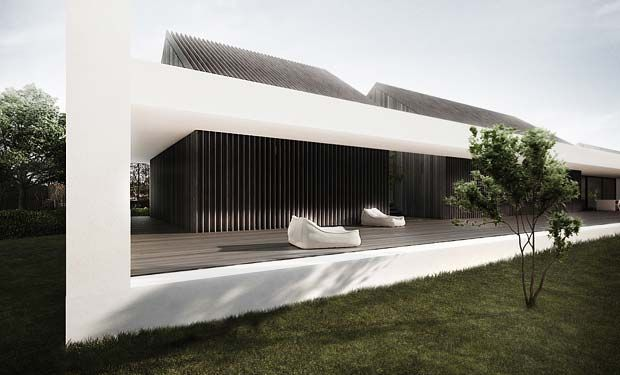 Vacation house by Tamizo Architects Group…