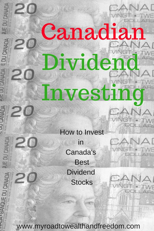 Earn passive income with Canadian dividends