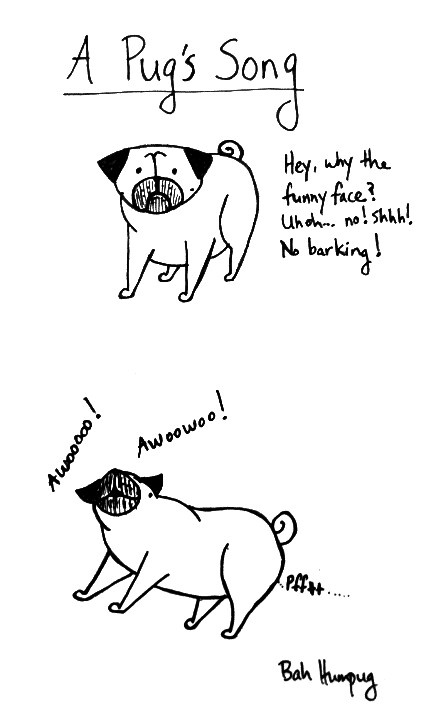 how to make a pug bark