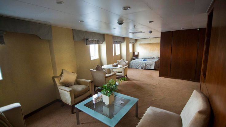 Everything you need for a comfortable & relaxing time on board, while you cruise along dreamy destinations! On Celestyal Crystal. #CelestyalCruises #Crystal #ship #travel #cruise #relax #vacation #holidays