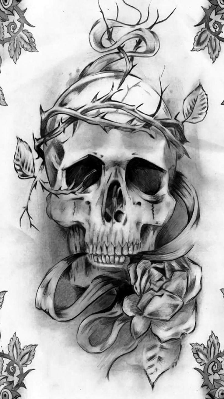 Uncategorized/virgo tattoos designs and ideas find your tattoo/virgo tattoos designs and ideas find your tattoo 27 - Skull Tattoos Art Tattoos Grim Reaper Skull Art Dark Art Art Reference Drawing Ideas Tatoo Tattoo Ideas Find