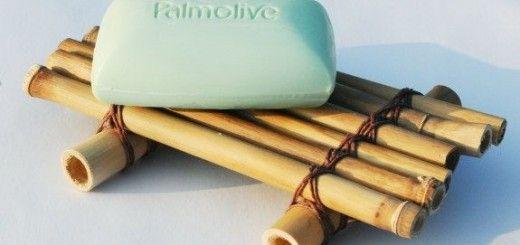 Jaboneras rusticas de bambu