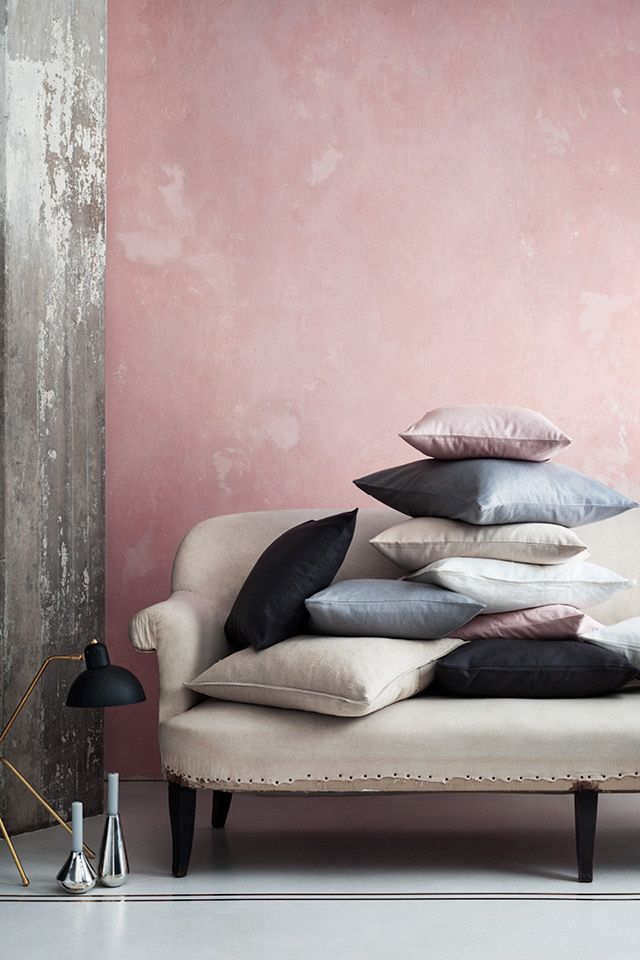 Cushion cover in cotton canvas.   H&M Home