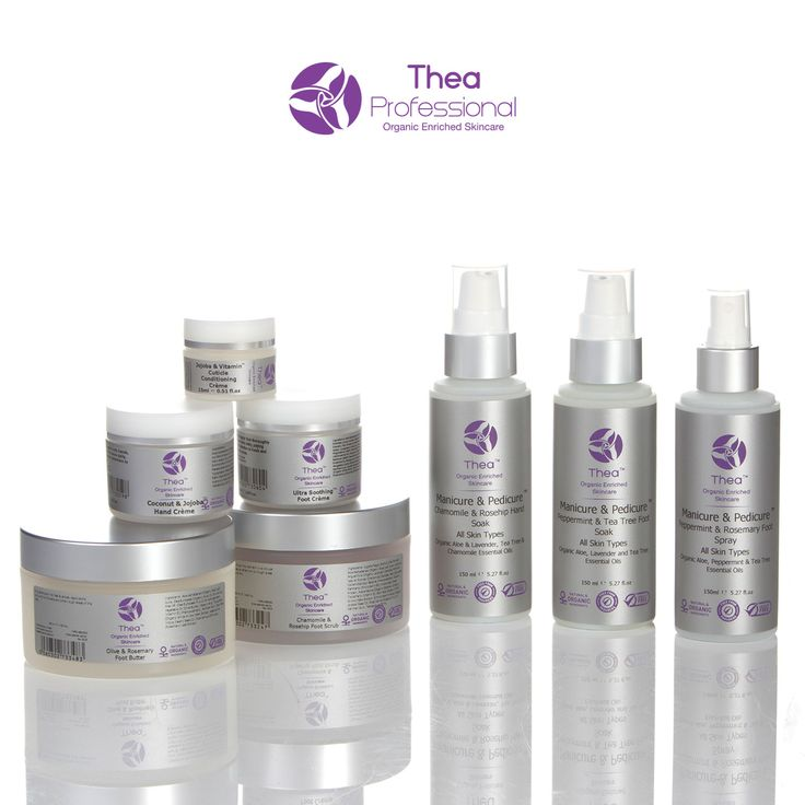 Thea Skincare beauty therapy student manicure and pedicure training kit.