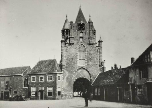 Amsterdamse poort vroeger.
