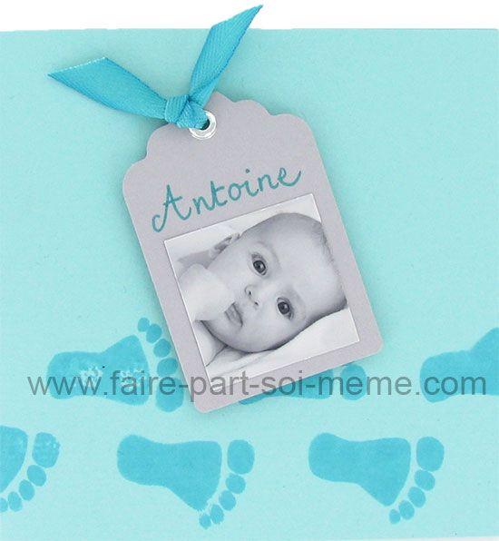 Faire-part naissance Antoine