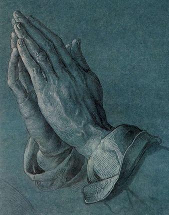 -Mains en prière- Albrecht Dürer アルブレヒト・デューラー 「祈りの手」