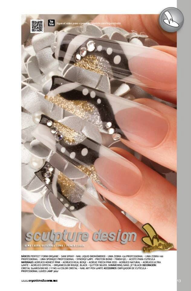 517 best nail art french tips images on pinterest nail design ua de oro sculpture design organic nails prinsesfo Choice Image