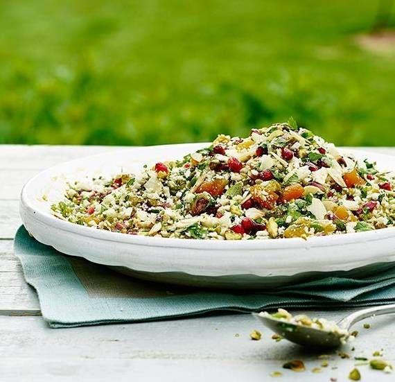 James Martin cauliflower couscous recipe