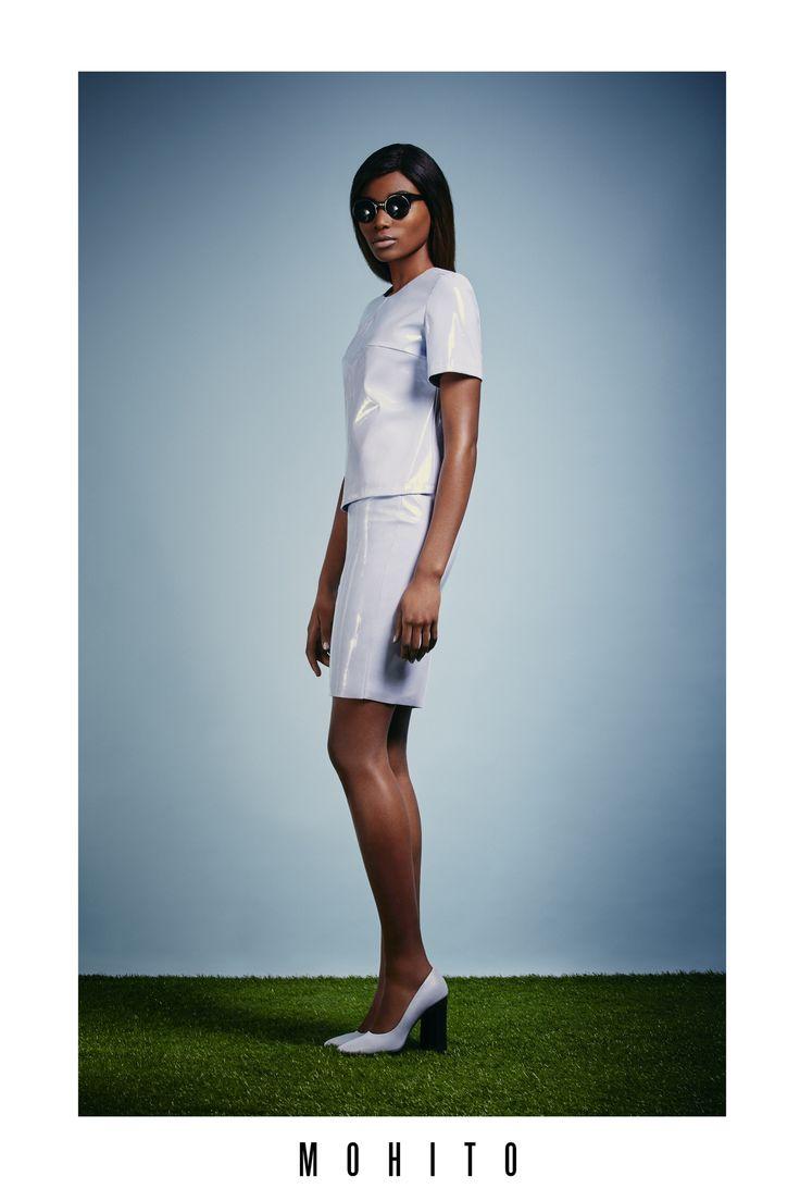 Osi Ugonoh posing for Mohito <3  www.mohito.com