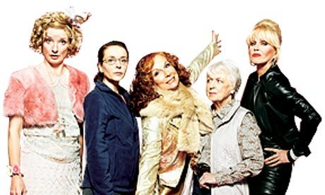 The ladies of Ab Fab. What's not to love? I've always wanted to be Bubble...