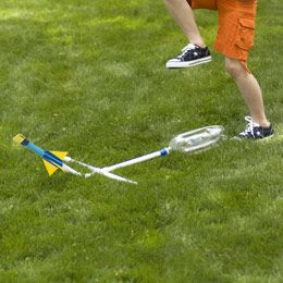 How to Build a Bottle Rocket :  Flies fast, far and high!