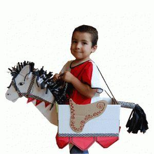 ridderpaard-knutselen