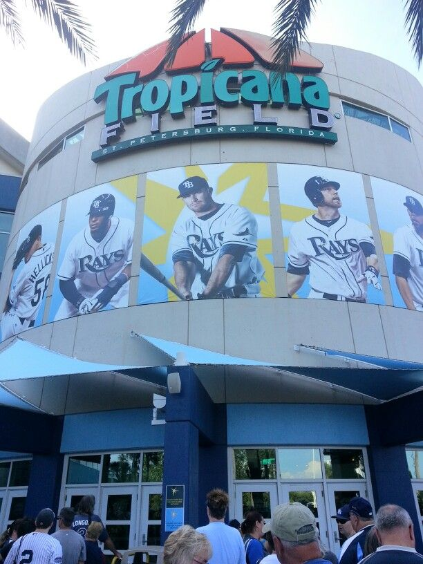 Tropicana Field, home of the Tampa Bay Rays baseball team