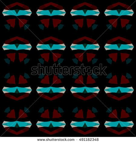 1800+ Abstract geometric backdrop. Vector illustration. Pattern for textile, pattern fills, web page background, surface textures.