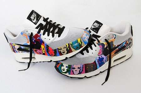 Nike Andy Warhol & Marilyn Monroe Kicks Bring Culture to Your Feet trendhunter.com