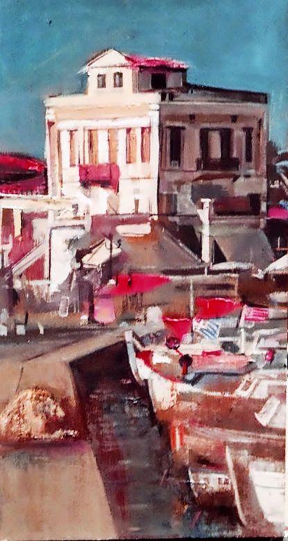 Nikos Stratakis. Painter | LANDSCAPES