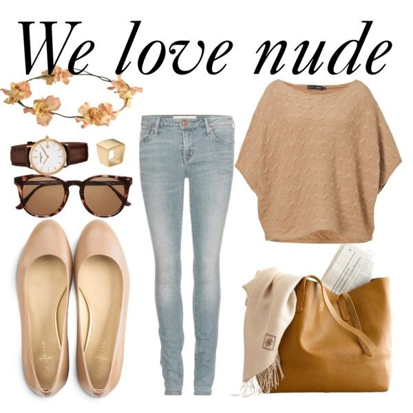 """We love nude"" by bloobaz on Polyvore"