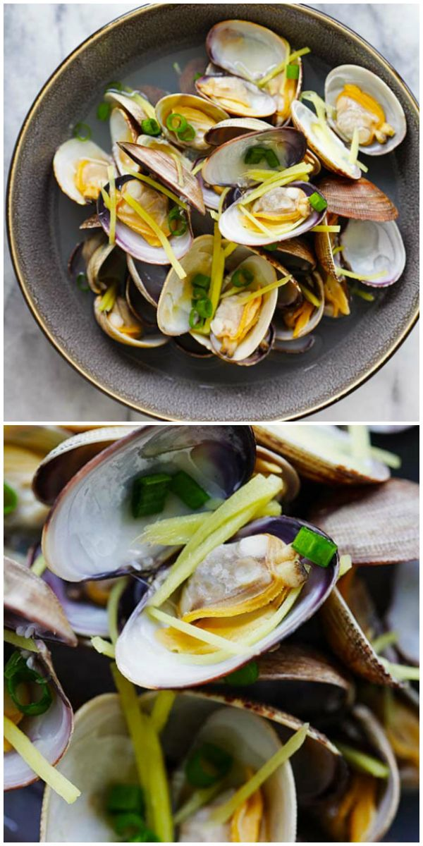 Easiest Way to Make Quick Clam Soup with Ginger and Umeboshi broth   Best Recipes