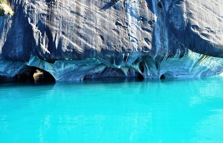 Мраморные пещеры - озеро Буэнос-Айрес