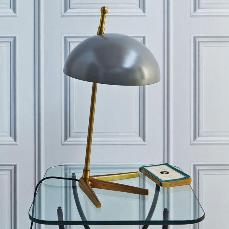 Platypus Brass Lamp - Table Lamps - Lighting - Lighting & Mirrors