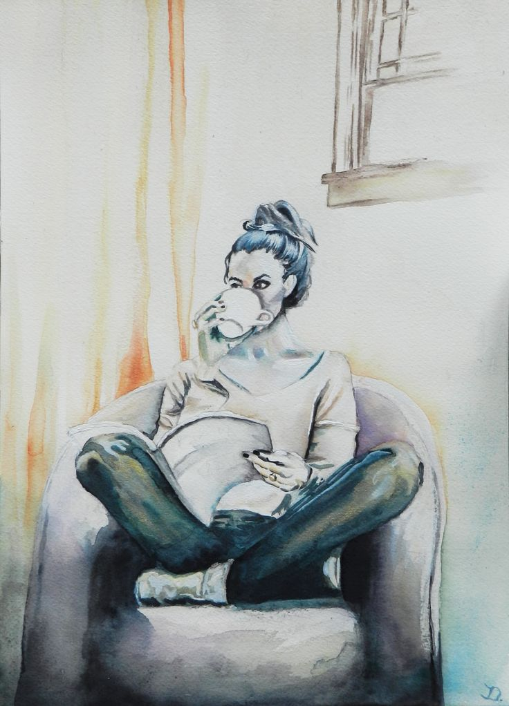 Doege, Josephine, womenstyle, watercolor on paper, 36x26 cm