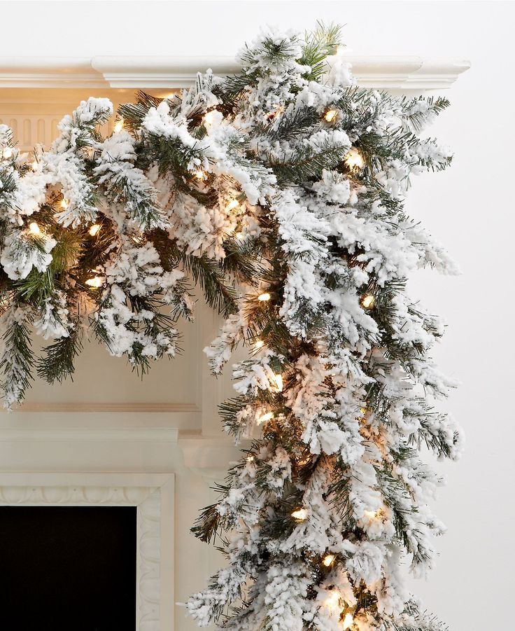 1000+ Ideas About Christmas Fireplace Decorations On