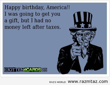 2de0ca23c06c55f761d8bb9c9b2a2e56 july baby happy birthday america 50 best july 4th memes images on pinterest ha ha, funny stuff