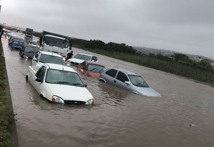 Durban storm results in huge flash floods and utter chaos  A Durban storm has caused serious damage to hospitals and flash floods in a number of areas. Damage to hospitals has also been confirmed. https://www.thesouthafrican.com/durban-storm-results-in-huge-flash-floods-and-utter-chaos-video/