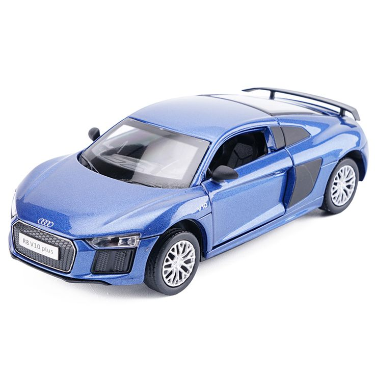 High Simulation 1:32 Scale AUDI R8 V10 Diecast Metal Alloy Car Model Toy With Pull Back Flashing For Kids Toys Collection. Yesterday's price: US $29.99 (24.74 EUR). Today's price: US $26.99 (22.21 EUR). Discount: 10%.