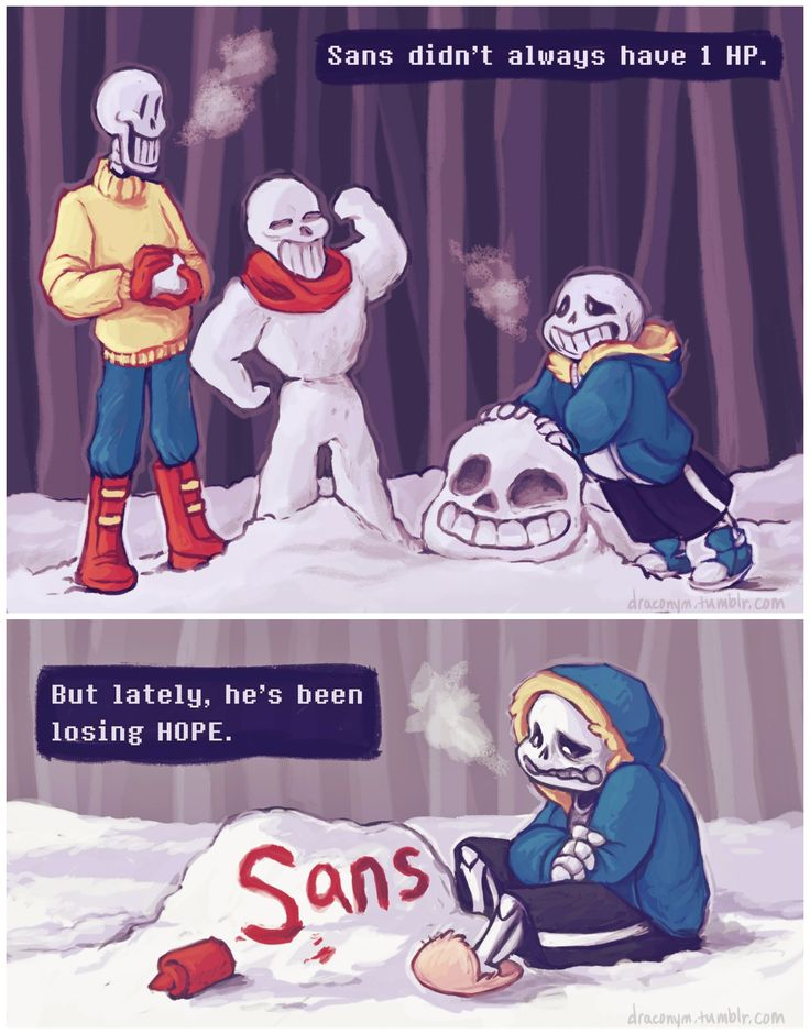 Papyrus and Sans #comic