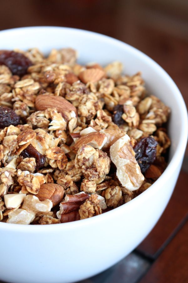 Granola on Pinterest | Granola clusters, Pumpkin granola and Buckwheat ...