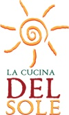 My logo, La Cucina Del Sole - Italian cooking school in Amsterdam