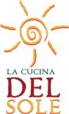 My logo, La Cucina Del Sole - Italian cooking school in Amsterdam
