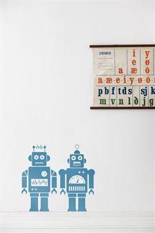 Robots wall decoration