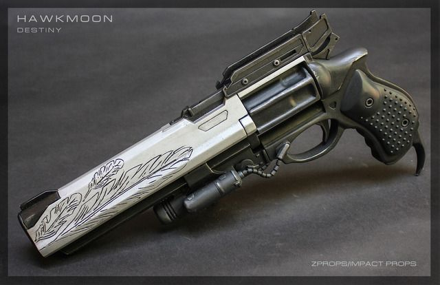 One talented prop maker is making Destiny hand cannons - Click For Article