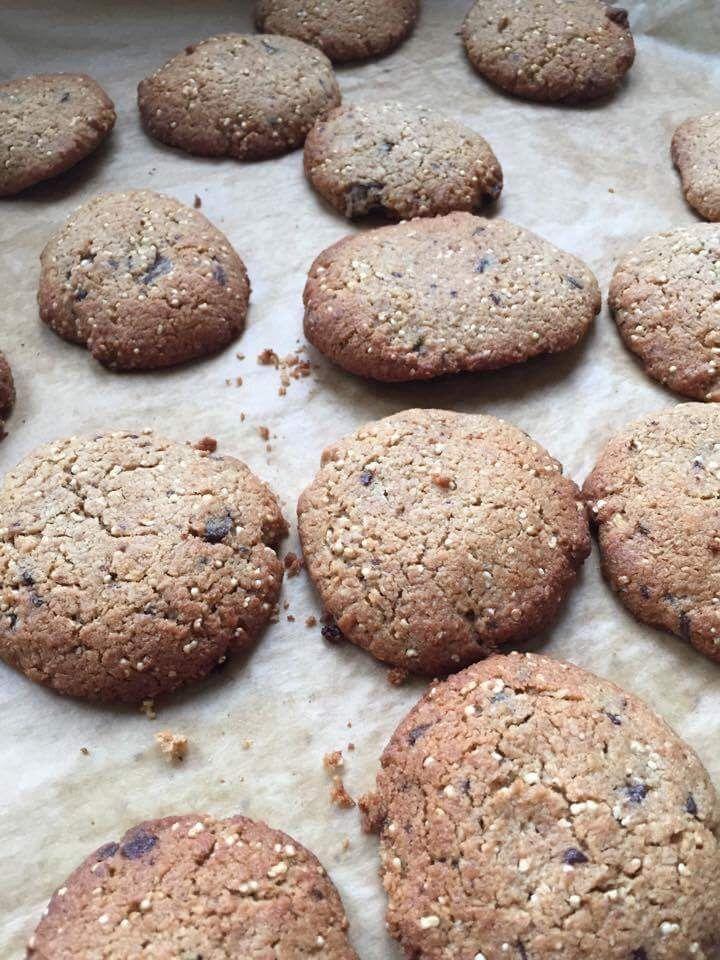 Ala'Antkowe BLW » Szybkie kokosowe ciasteczka z czekoladą