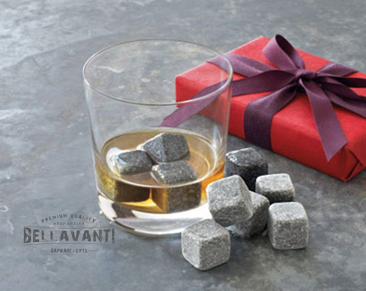 Great Gift Idea - Whiskey and Scotch Chilling Stones