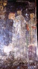 Theodore Limniotis  Wall-painting of the wealthy scholar and nobleman Theodore Limniotis, circa 1180, Kastoria,church of Agioi Anargyroi.